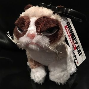 💗Grumpy Cat plush bag or backpack charm