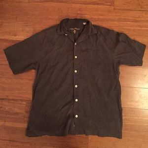Tommy Bahama Other - Tommy Bahama army green short sleeve button down