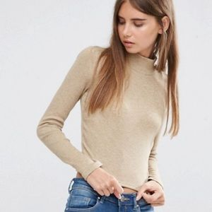 ASOS Crop with Turtle Neck