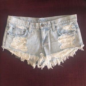 Carmar Pants - Carmar distressed denim shorts - LF Store