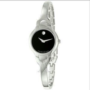 NWT Movado Kara Stainless-Steel watch