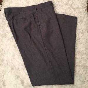 Apt. 9 Other - Men's gray dress pants 36x34 flat front.