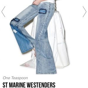 NWT One Teaspoon Marine Westenders sz 27
