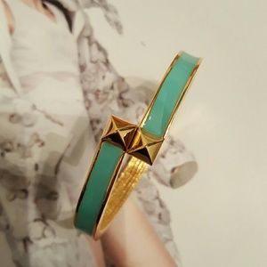 Vince Camuto Jewelry - Vince Camuto Bangle Gold & Teal