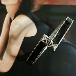 Vince Camuto Jewelry - Vince Camuto Bangle Black & Silver