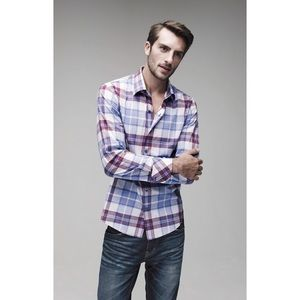 Zachary Prell Other - Zachary Prell Trim Fit Plaid Sport Shirt