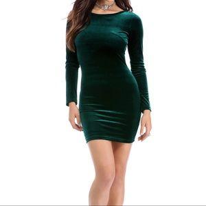WINDSOR - ❌SOLD❌Windsor Emerald Dark Green Long Sleeve Dress ...
