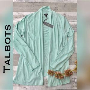 Talbots Sweaters - Mint green soft cardigan NWT