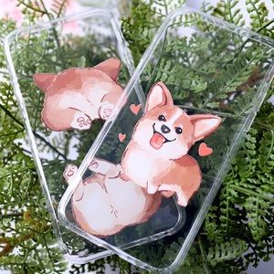 17Basics Accessories - ✂️CLEARANCE✂️17Basics corgi puppy phone case