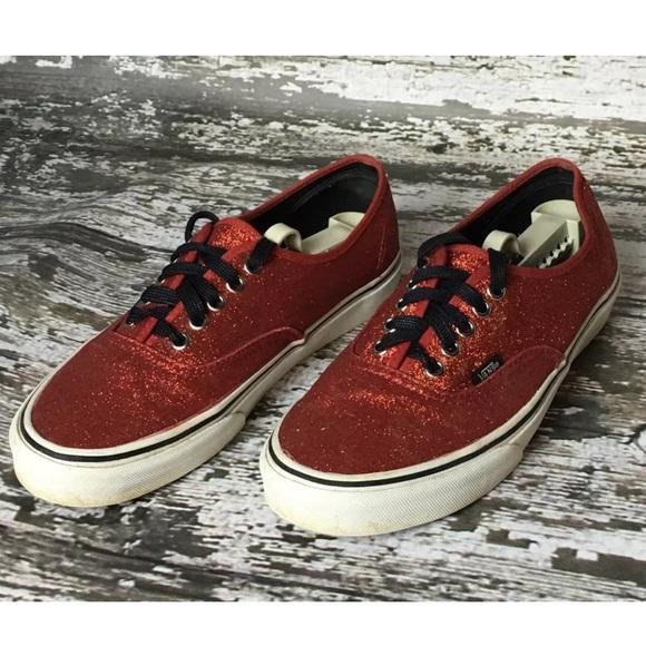 Vans red glitter shoes kicks Wizard of Oz. M 584b545f56b2d6ae33011a13 08eb38a7f