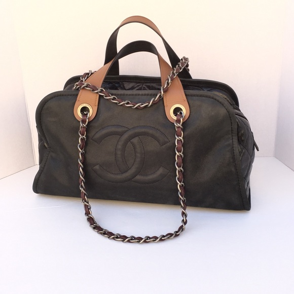 CHANEL Bags   In The Mix Bowler Bag   Poshmark ca8bc876a3