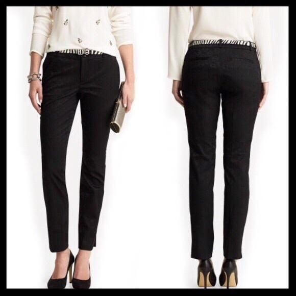 d095728be28f0f Banana Republic Pants - banana republic // camden fit jacquard black pants
