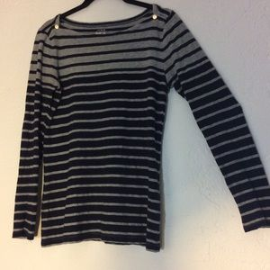 J crew striped painter tee long sleeve shirt