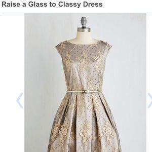 Raise a Glass to Classy Dress in XL