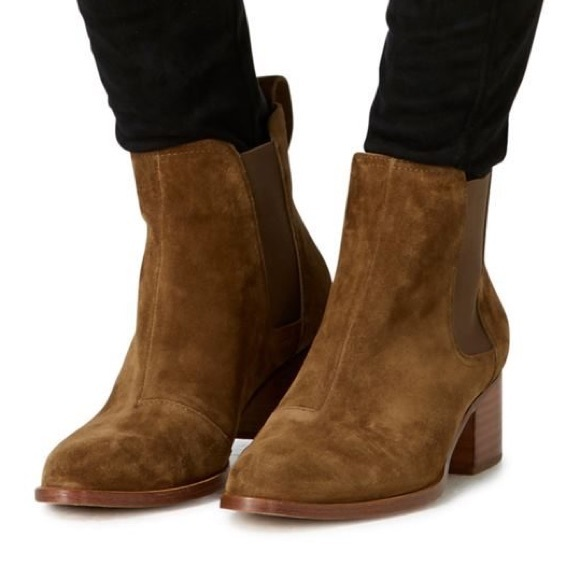 Rag and Bone Rag & Bone Tan Suede Walker Boots nxgtItu8