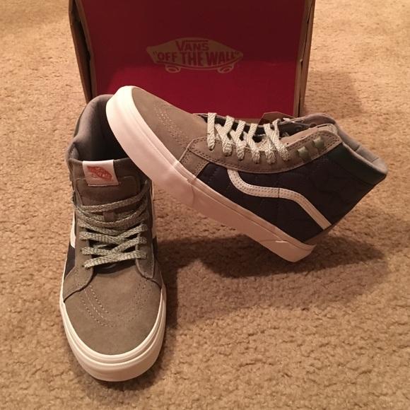 a1da6683b56f5b Authentic Vans Sk8 Hi MTE CA shoes VN000316I2E