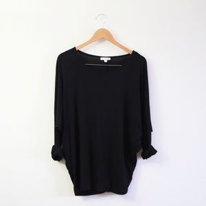 Zenana Outfitters Tops - EVERYDAY BLACK TOP