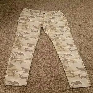 WAM Denim - Desert camo Skinny Jeans 18w