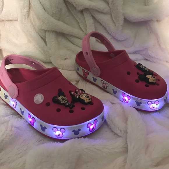 CROCS Shoes   Girl Disney Light Up