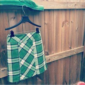Tailor Vintage Dresses & Skirts - Tailor B. Moss plaid skirt sz: 2