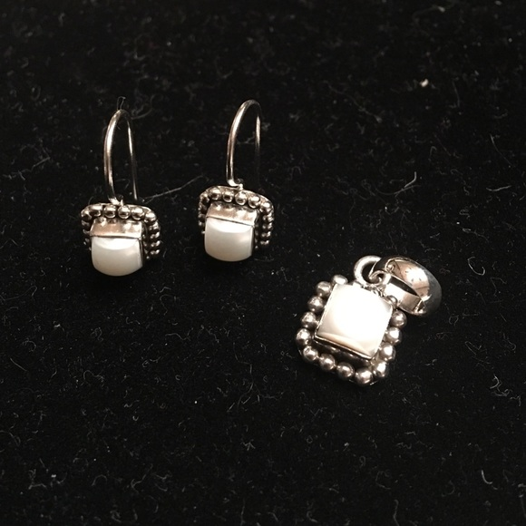 598cfc6ca Silpada Pearls Ring, Pendant & Earrings Set!! M_584b7e125a49d0c02301d07a