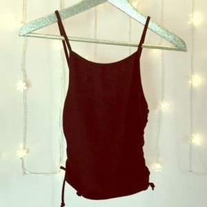 Brandy Melville Tops - NWOT Brandy Melville corset sides tank