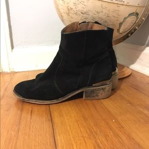 MTNG Genuine Suede Ankle Boots