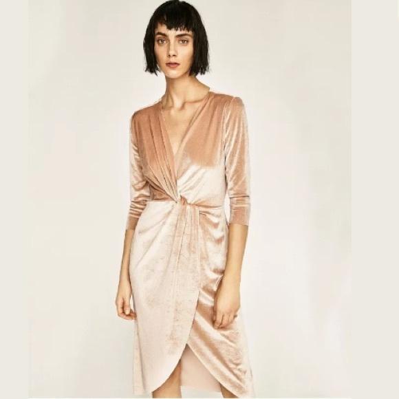 Zara Dresses & Skirts - Velvet Dress | Winter Wedding Style
