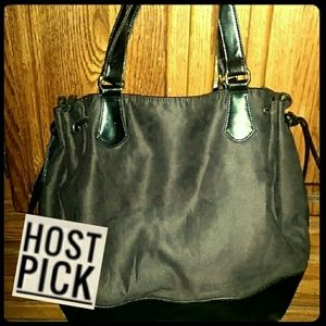 HP!!! *Spacious, Soft faux-suede Tote!*