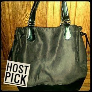 Handbags - HP!!! *Spacious, Soft faux-suede Tote!*