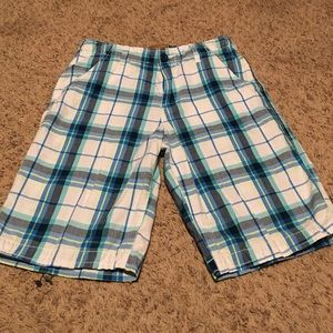 Red Camel Other - Red Camel Plaid Boy's Flat Front Shorts