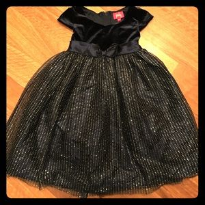 Pinky Other - Navy Blue Girl's Formal Dress