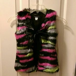 Kate Mack Other - Girls Kate Mack Faux Fur Vest-NWT