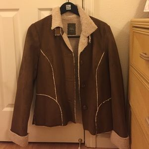 """Old Navy Jackets & Blazers - Old Navy """"Suede"""" Jacket"""