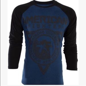 Affliction Other - NWT MENS AMERICAN FIGHTER LONG SLEEVE SHIRT SIZE M