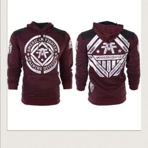 AFF Other - NWT MENS AMERICAN FIGHTER SWEAT SHIRT SIZE L