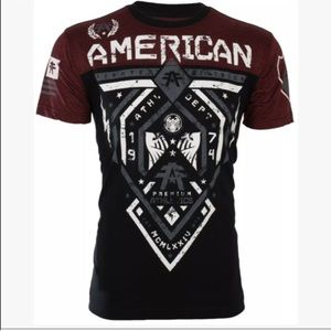 Affliction Other - NWT MEN AMERICAN FIGHTER SHORT SLEEVE SHIRT SIZE L