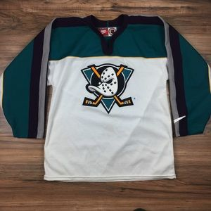 super popular fdf02 3b940 Nike Mighty Ducks NHL Jersey