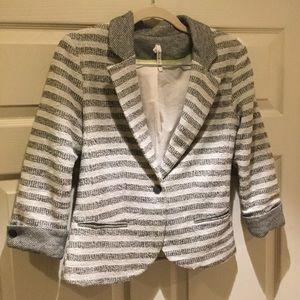 Willow & Clay Jackets & Blazers - Like New Willow and Clay Sweater Blazer
