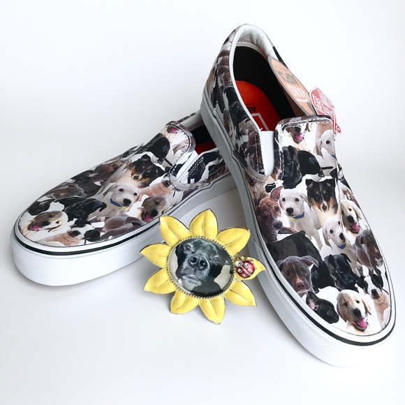 4c7a586e91 Vans ASPCA Puppy Slip On Shoe - Unisex