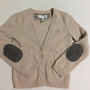 Abercrombie and Fitch 3/4 sleeve cardigan.