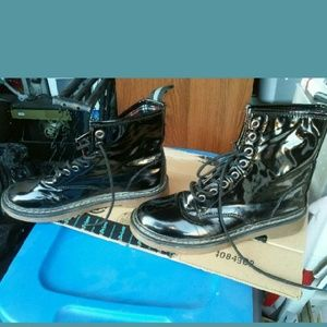 Kaii Shoes - Patent leather  boots