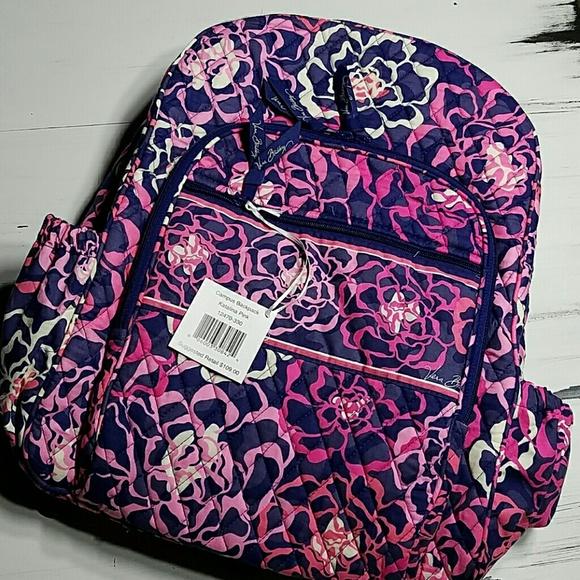693ec462f Vera Bradley Bags   Sale Campus Backpack Katalina Pink   Poshmark