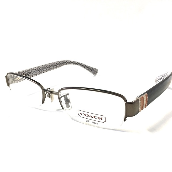 93d6eb2f400 Coach Accessories - COACH Eyeglasses Semi-Rimless NWOT