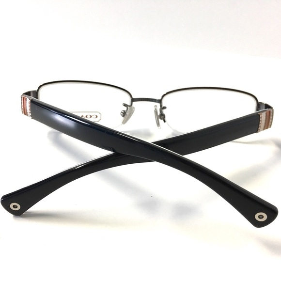 53% off Coach Accessories - COACH Eyeglasses Semi-Rimless ...