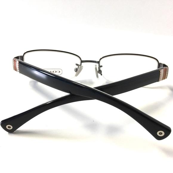 Coach Rimless Eyeglass Frames : 53% off Coach Accessories - COACH Eyeglasses Semi-Rimless ...