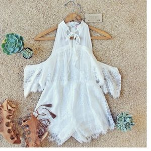 Spool 72 Other - Flutter Lace Romper