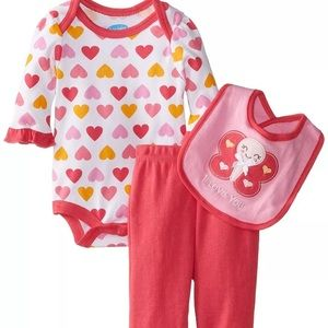 Bon Bebe Other - Bon Bebe Baby Girls 3 piece Set 0-3 Months