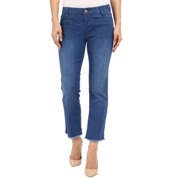 Sanctuary Denim - NWT Sanctuary denim Marianne crop jeans raw edge