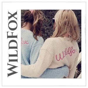 Wildfox Sweaters - ♦️✨WildFox White Label Fuzzy Cardigan Sweater✨